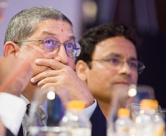 Rediff Sports - Cricket, Indian hockey, Tennis, Football, Chess, Golf - Srinivasan faces contempt of court?