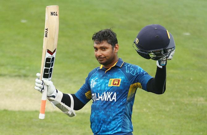 Rediff Cricket - Indian cricket - Record-breaker Sangakkara surges ahead in MVP table