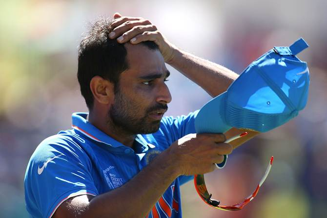 Rediff Sports - Cricket, Indian hockey, Tennis, Football, Chess, Golf - Can't sit back and judge Shami's personal life: BCCI