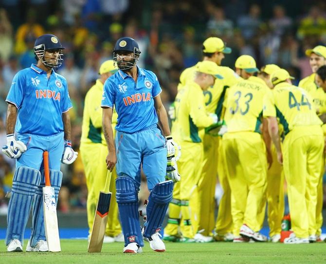 India Australia Odis The Record So Far Rediff Com Cricket