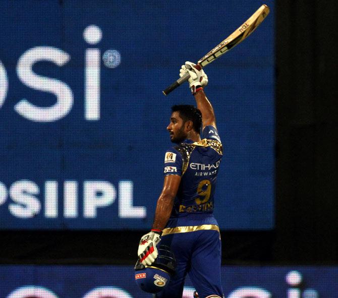 Rediff Cricket - Indian cricket - Rayudu's blast helps Mumbai down Rajasth