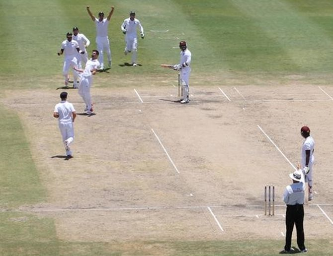 Rediff Cricket - Indian cricket - 18 wickets fall on remarkable day in Barbados