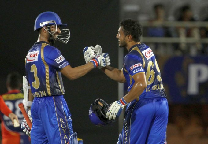 Rediff Cricket - Indian cricket - Rahane, Nair guide Rajasthan to top of the table