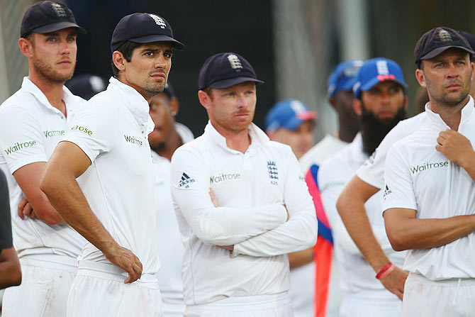 Rediff Sports - Cricket, Indian hockey, Tennis, Football, Chess, Golf - Heads set to roll after England's Caribbean flop show?