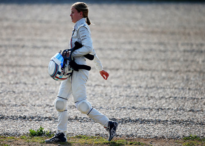 Susie Wolff of Williams