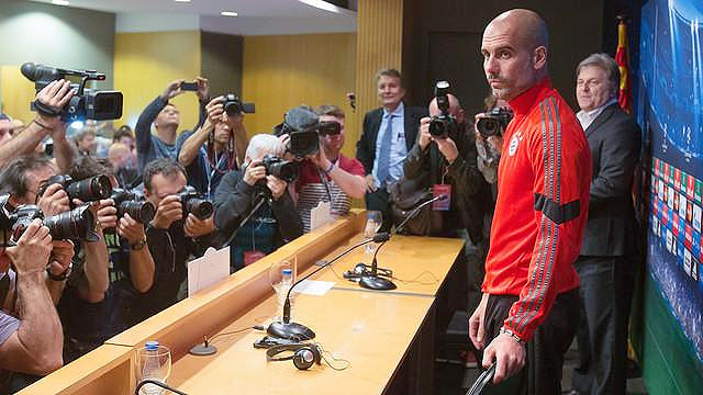 Rediff Sports - Cricket, Indian hockey, Tennis, Football, Chess, Golf - I'm here to take Bayern to the final: Guardiola
