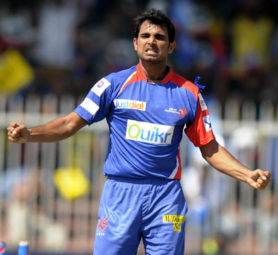 Rediff Sports - Cricket, Indian hockey, Tennis, Football, Chess, Golf - 2 crore bounty for Shami despite missing full IPL with injury!