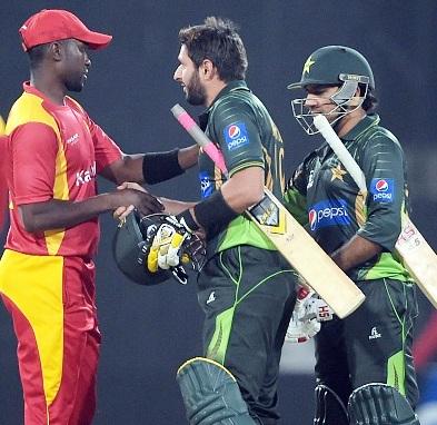 Pak beat Zimbabwe by 13 runs in 1st T-20