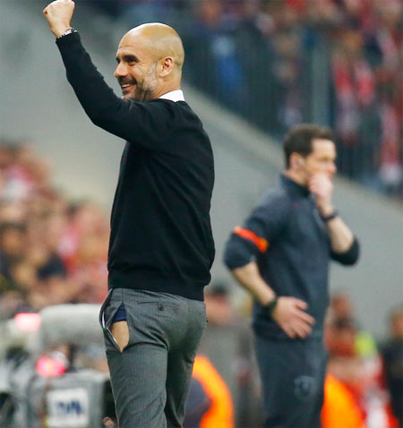 Rediff Sports - Cricket, Indian hockey, Tennis, Football, Chess, Golf - Champions Bayern will come back stronger: Guardiola