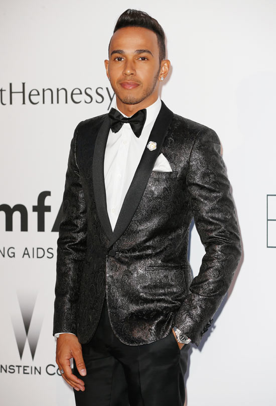 F1 Driver Lewis Hamilton attends amfAR's 22nd Cinema Against AIDS Gala, Presented By Bold Films And Harry Winston at Hotel du Cap-Eden-Roc on May 21