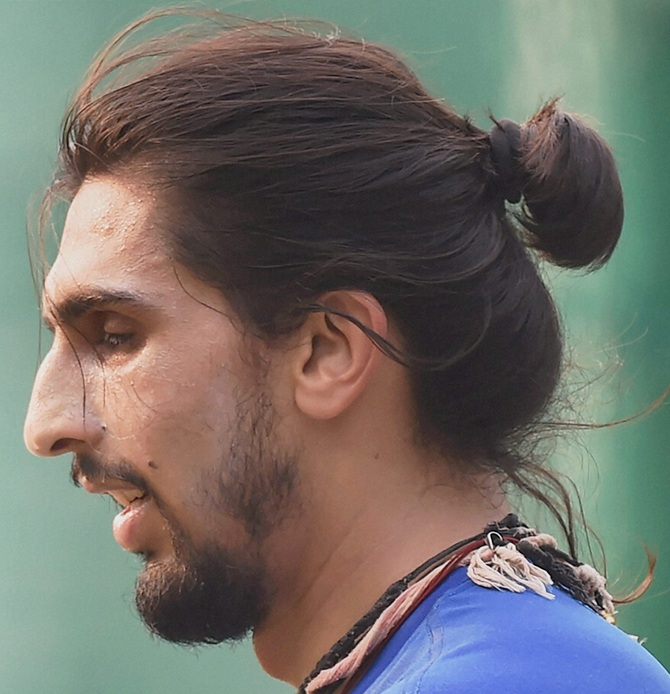 Ishant Sharma S Man Bun Yea Or Nay Tell Us Rediff Com