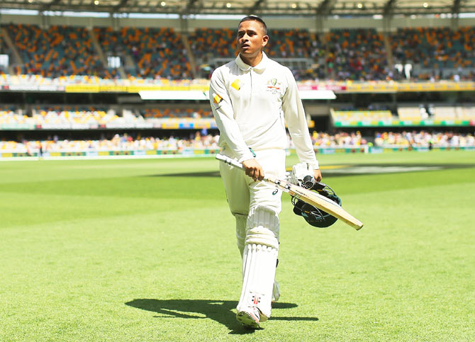 Australia's Test batsman Usman Khawaja has expressed his frustration at being left on the bench for the Test series in India that concluded last month