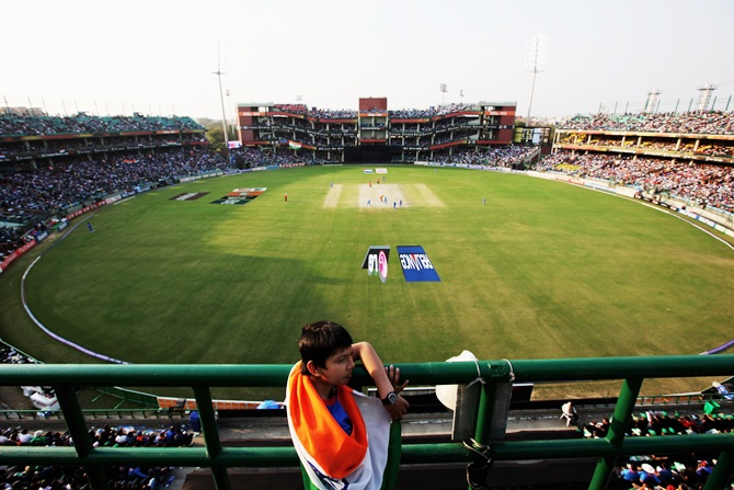 The Ferozshah Kotla Stadium, which is under the aegis of Delhi and District Cricket Association