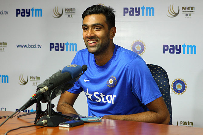 India all-rounder Ravichandran Ashwin