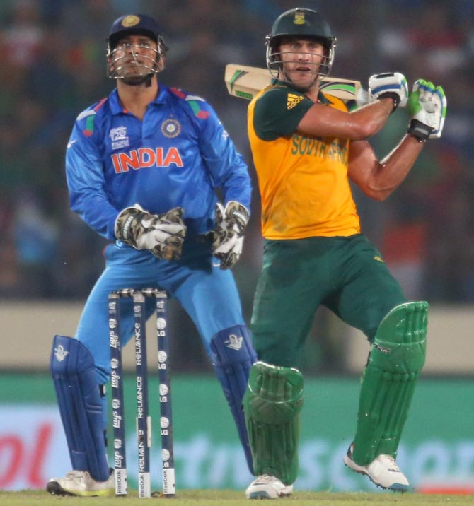 Rediff Sports - Cricket, Indian hockey, Tennis, Football, Chess, Golf - India-South Africa T20s: What's the score?