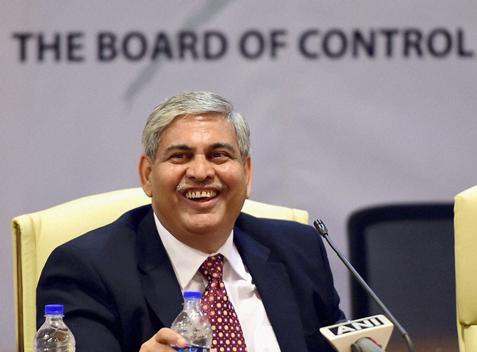 Rediff Cricket - Indian cricket - ICC chief Shashank Manohar defers resignation