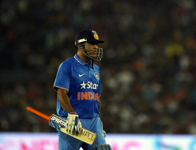 Rediff Cricket - Indian cricket - Dhoni can play for another 3-5 years, says Gavaskar
