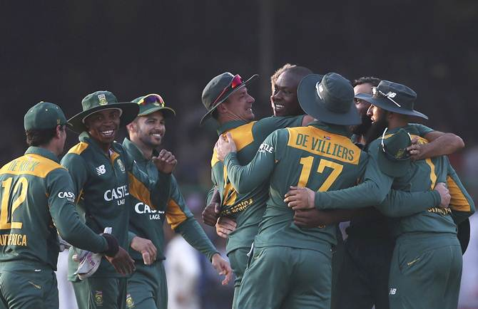 Rediff Cricket - Indian cricket - SA fined for slow over-rate in first ODI