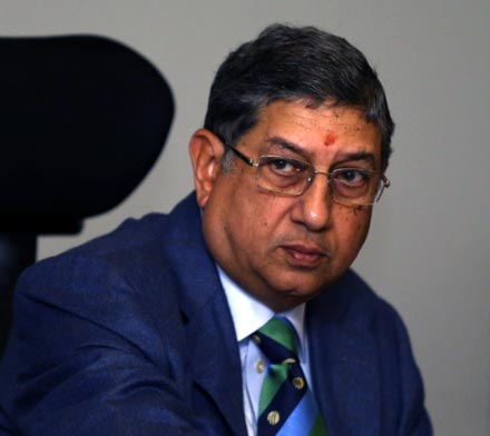 Rediff Cricket - Indian cricket - Why Srinivasan represented BCCI at ICC Board meeting