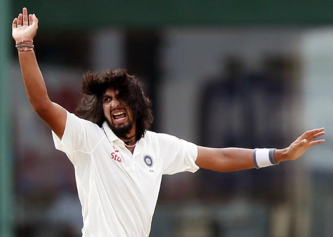 Rediff Cricket - Indian cricket - Decoding Ishant Sharma: Slow starter to match-winner!