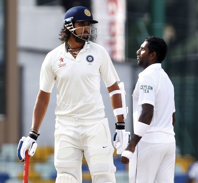 Rediff Cricket - Indian cricket - 'Prasad incident made angry Ishant bowled brilliantly'