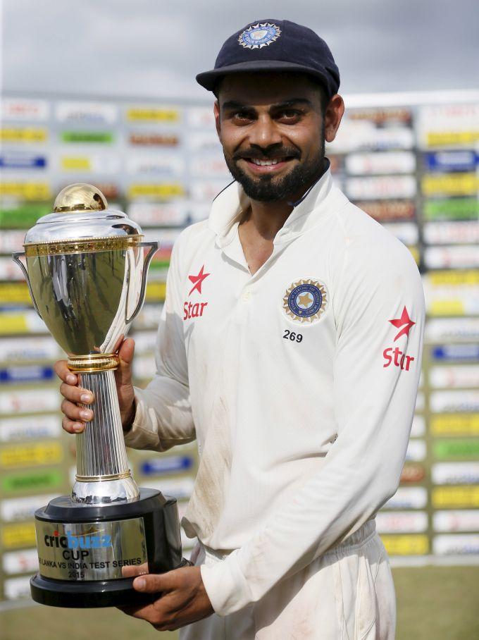 Rediff Cricket - Indian cricket - PHOTOS: India seal Sri Lanka series despite Mathews ton