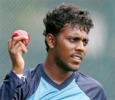 Rediff Cricket - Indian cricket - Sri Lanka spinner Kaushal reported for illegal action during 3rd India Test