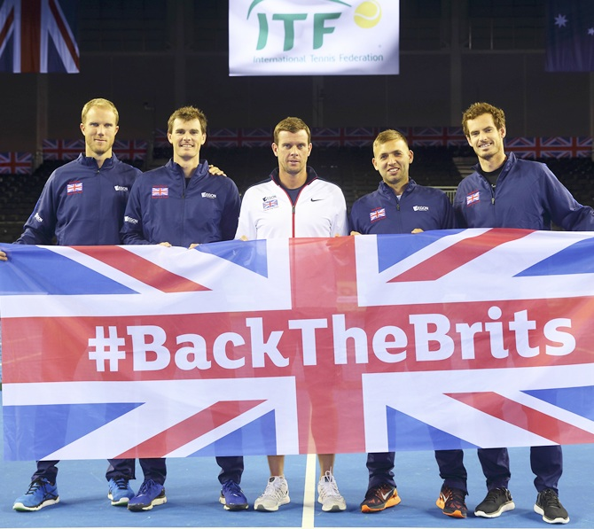 The Great Britain team