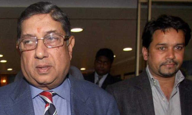 Rediff Cricket - Indian cricket - End of the road for Pawar, Srinivasan; Thakur has to quit HPCA