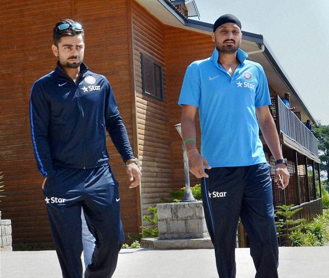 Virat Kohli Left And Harbhajan Singh Move To A Hotel In Dharamshala