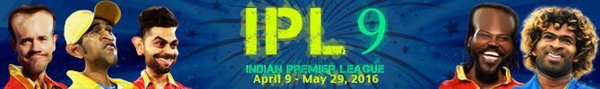 Indian Premier League - 2016