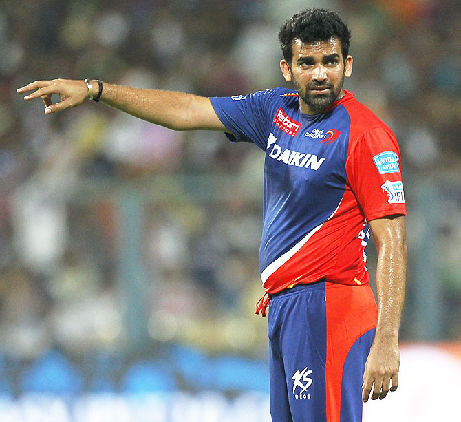 Rediff Cricket - Indian cricket - Zaheer positive about turning things around after opening loss