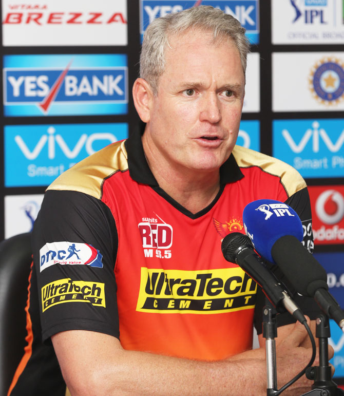 Rediff Cricket - Indian cricket - Hyderabad coach Moody draws inspiration from defending champs Mumbai