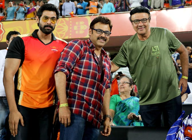 Celebs at IPL: Delight for Bahubali star, despair for Tendulkar Jr. and Ambanis