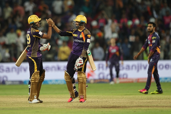 Rediff Cricket - Indian cricket - PHOTOS: Suryakumar takes KKR over the line in thrilling win over Pune