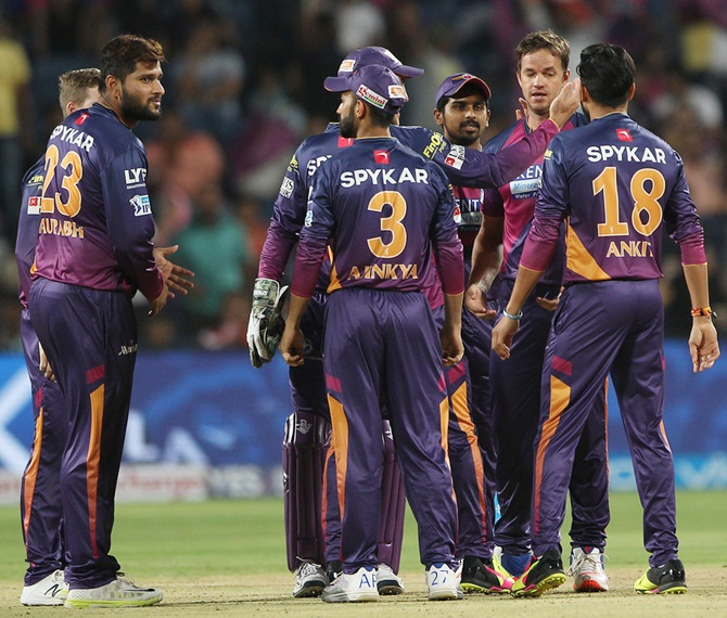 Rediff Cricket - Indian cricket - Dhoni's underperforming Pune face gigantic task against Sunrisers