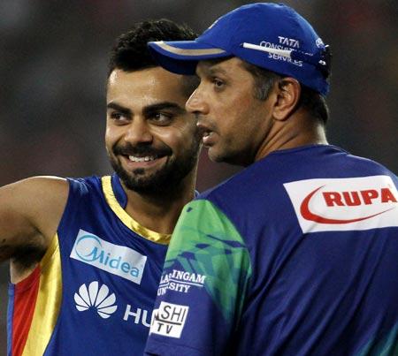 Rediff Cricket - Indian cricket - Batting great Dravid on Kohli, Pujara and Rahane...