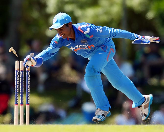 Rediff Sports - Cricket, Indian hockey, Tennis, Football, Chess, Golf - Why Kerala youngster Sanju Samson is in trouble