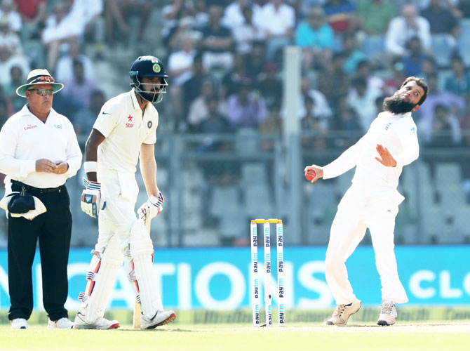 Rediff Cricket - Indian cricket - 'Moeen and Rashid not in league of Swann, Panesar'