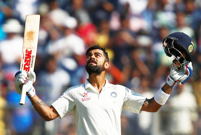 Tendulkar's advice, captaincy crafted Kohli's Test batting