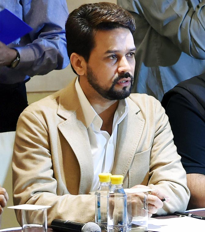 Current situation not in best interest of cricketers: BCCI chief