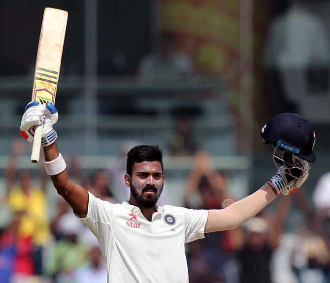 Rediff Cricket - Indian cricket - ICC Test Rankings: Rahul zooms to career best spot