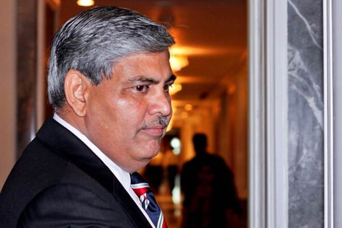 ICC chairman Shashank Manohar