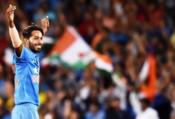 Rediff Sports - Cricket, Indian hockey, Tennis, Football, Chess, Golf - Pandya brings right balance to the team: Kumble