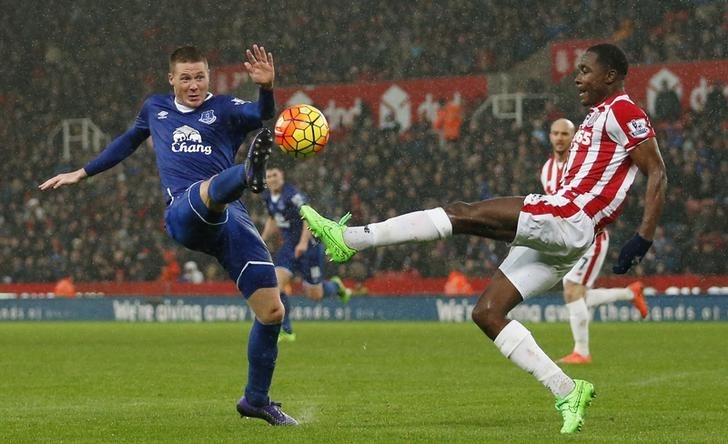 Rediff Sports - Cricket, Indian hockey, Tennis, Football, Chess, Golf - EPL PHOTOS: Leicester City take giant step towards title