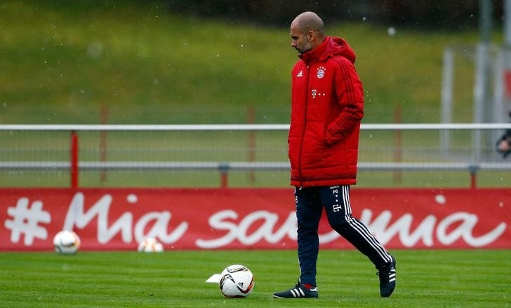 Magical Four driving Bayern in Guardiola swansong