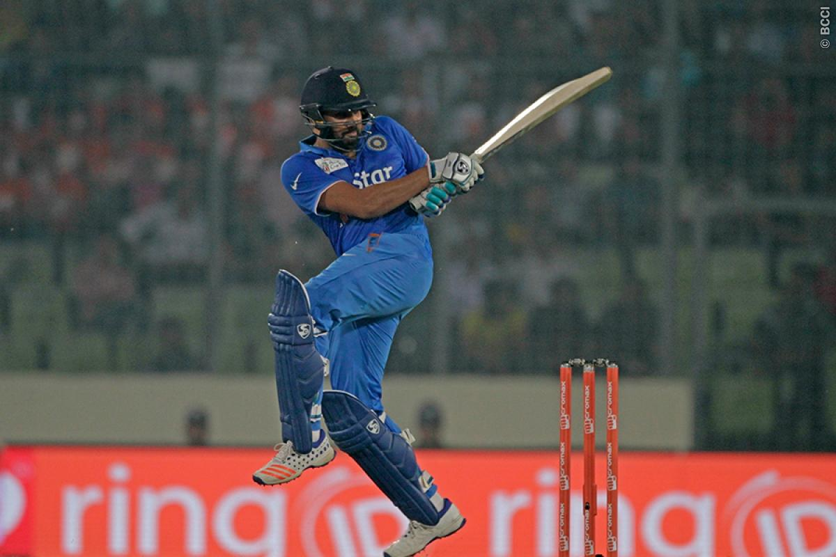 Rediff Sports - Cricket, Indian hockey, Tennis, Football, Chess, Golf - Asia Cup stats: Rohit, Nehra set new milestones