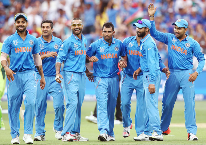 Rediff Cricket - Indian cricket - Fit-again Shami hoping to repeat World Cup showing in Australia