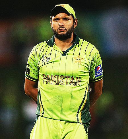 Pakistan T20 captain Shahid Afridi