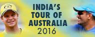 India's tour of Australia 2016